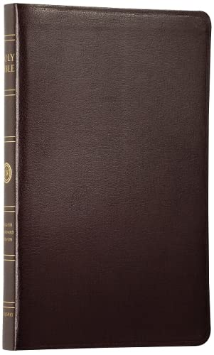 9781581344103: ESV Thinline Bible, Premium Bonded Leather, Burgundy, Red Letter Text