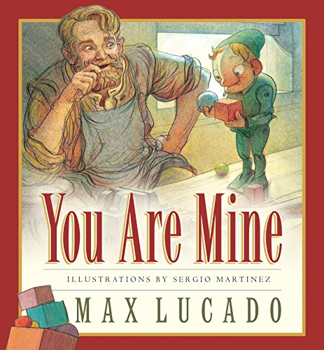 9781581344295: You Are Mine (Board Book) (Max Lucado's Wemmicks)
