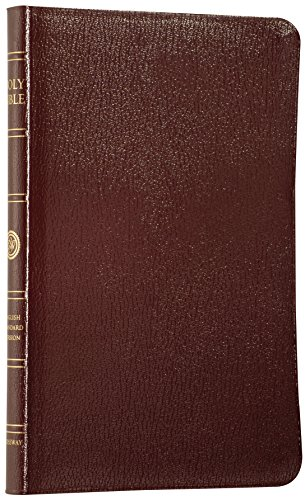 9781581345049: ESV Thinline Bible, Genuine Leather, Burgundy, Red Letter