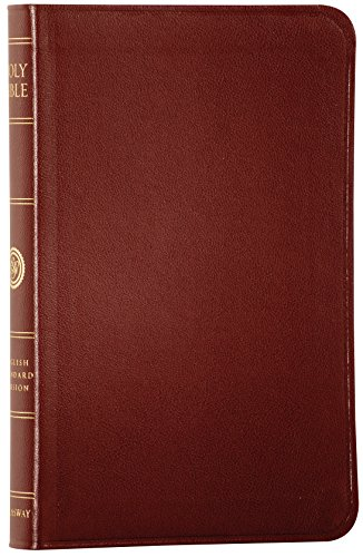 The Holy Bible: English Standard Version: Compact Thinline Edition (Burgundy Leather)