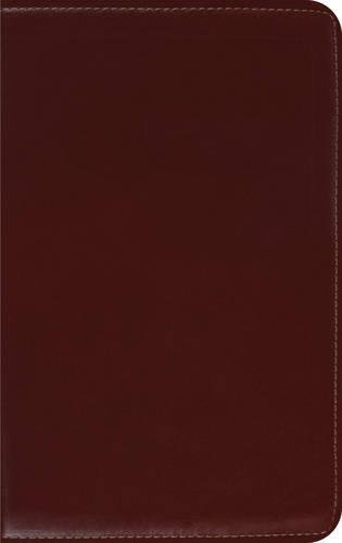 ESV Thinline Bible, Premium Calfskin Leather, Cordovan,