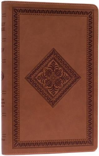 9781581346534: ESV Thinline Bible, TruTone, Tan, Diamond Design, Red Letter Text