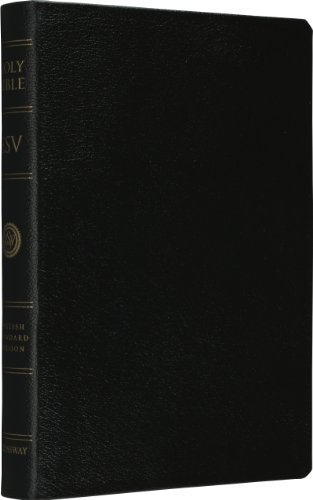 9781581346794: ESV Personal Size Reference Bible (Black)