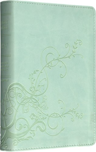 9781581346817: ESV Personal Size Reference Bible (TruTone, Cool Mint, Ivy Design)