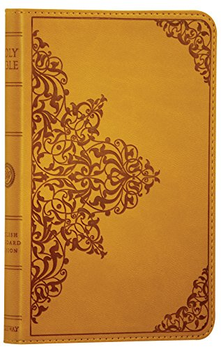 ESV Compact Bible (TruTone, Goldenrod, Filigree Design, Red Letter): English Standard