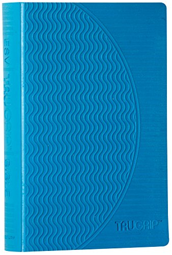 9781581347036: ESV Compact TruGrip Bible, Rubber Cover, Blue, Red Letter Text