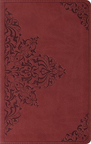 ESV Thinline Bible, TruTone, Nutmeg, Filigree Design,: ESV Bibles by