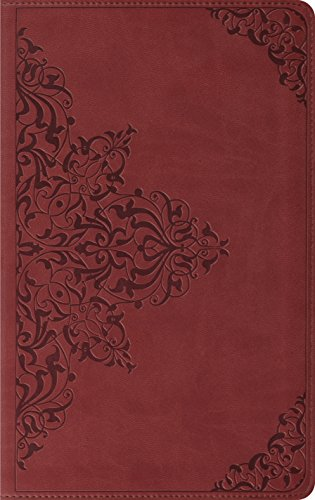 ESV Thinline Bible, TruTone, Nutmeg, Filigree Design, Red Letter Text: ESV Bibles by Crossway