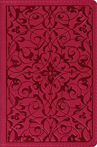 9781581347685: The Holy Bible: English Standard Version, Compact TruTone Edition (Wild Rose, Floral Design, Red Letter)