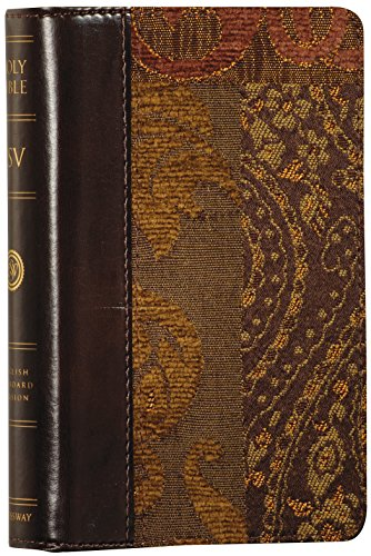 9781581347784: The Holy Bible: English Standard Version, Compact Regency Bible (Tapestry Design, Red Letter)