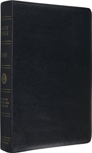 ESV Single Column Reference Bible (Black)