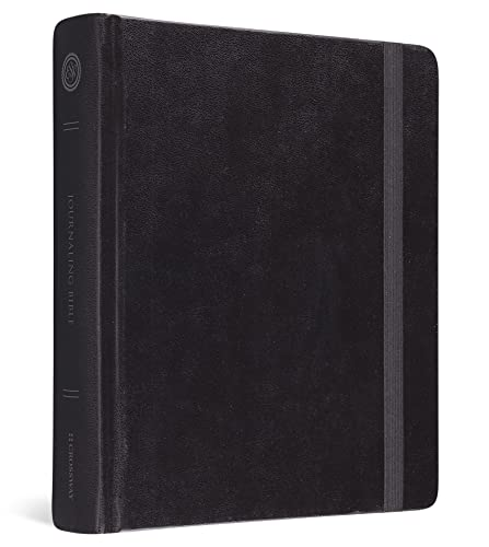 The Holy Bible: English Standard Version, Journaling Bible (Original, Black): ESV Bibles by Crossway