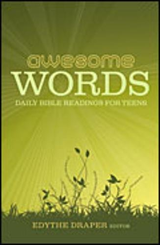 9781581349535: Awesome Words: Daily Bible Readings for Teens