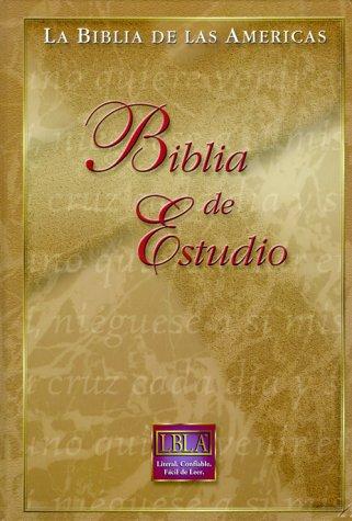 9781581350784: LA Biblia De Las Americas: Biblia De Estudio (Spanish Edition)