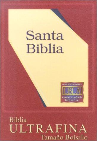 9781581350951: LBLA Pocket-Size Bible (Black Bonded with Zipper)