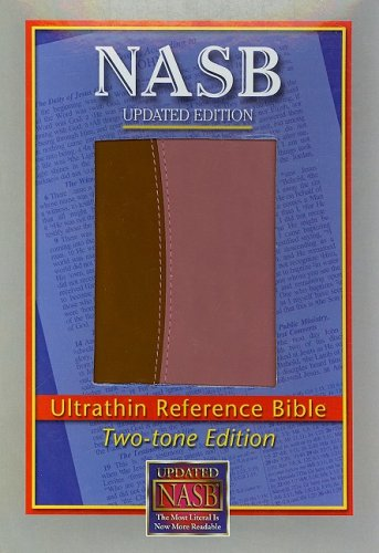 9781581351385: NASB Ultrathin Reference Bible, Brown/Pink, LT