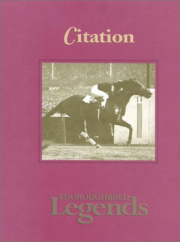 9781581500455: Citation: Thoroughbred Legends