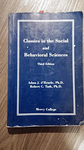 9781581523270: Classics in the Social and Behavioral Sciences (Third Edition)