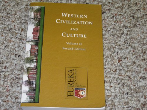 9781581525069: Western Civilization and Culture, Vol. II, Second Edition