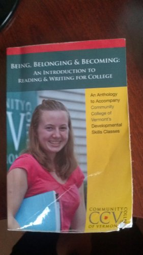 Being, Belonging & Becoming: An Introduction to Ready & Writing for Colege: Tiffany Keune