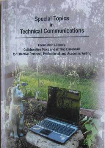 9781581526882: Special Topics in Technical Communications