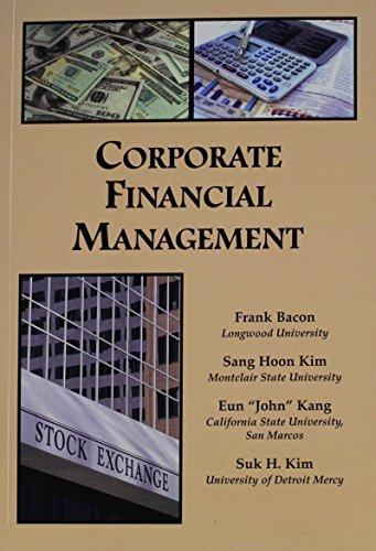 9781581527056: Corporate Financial Management