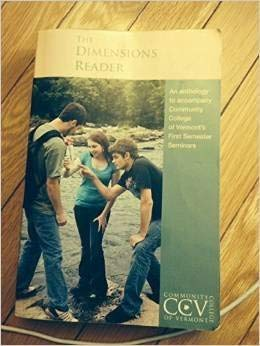 9781581528657: The Dimensions Reader (7th Ed) (CCV First Semester)