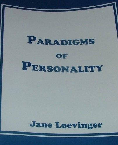 9781581529111: PARADIGMS OF PERSONALITY