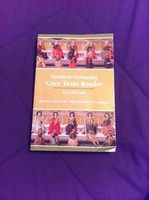 9781581529999: Samford University Core Text Reader Vol. 1
