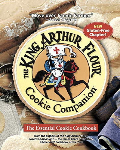 The King Arthur Flour Cookie Companion: The Essential Cookie Cookbook (1581572204) by King Arthur Flour