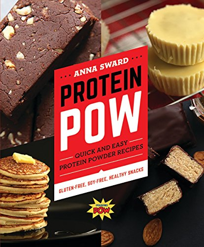 Protein Pow: Quick and Easy Protein Powder Recipes 9781581574647 75 all-natural, gluten-free, soy-free, vegetarian recipes. ProteinPow.com is the place for high-protein recipes using protein powder―Ann