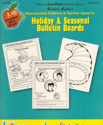 9781581661095: Holiday & Seasonal Bulletin Boards (A+ Teacher Idea Book)
