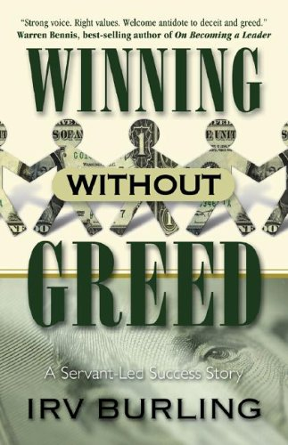 9781581692211: Winning Without Greed