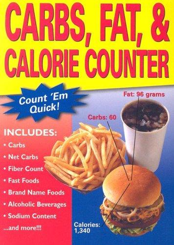 9781581733105: Carbs, Fat, & Calorie Counter