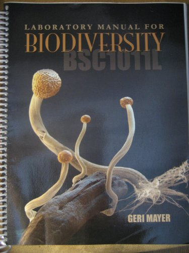 9781581756005: Laboratory Manual For Biodiversity (BSC1011L)