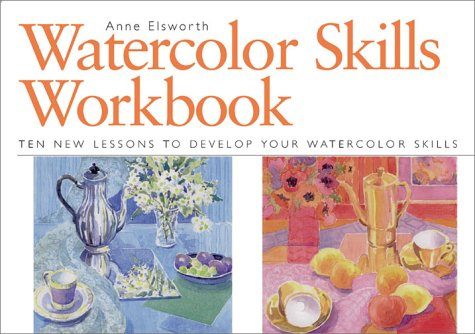 9781581802030: Watercolour Skills Workbook