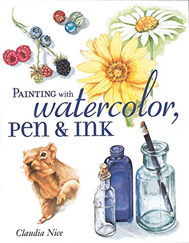 9781581802658: Painting Country Gardens in Watercolor, Pen & Ink