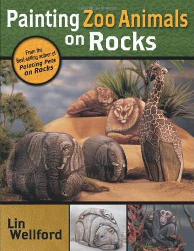 Painting Zoo Animals on Rocks: Lin Wellford