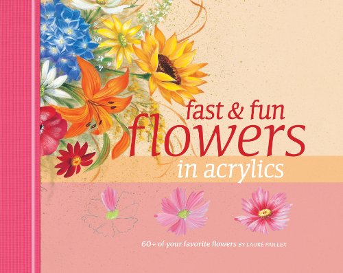 9781581808278: Fast & Fun Flowers in Acrylics