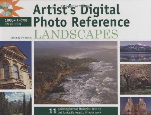 9781581809015: Artist's Digital Photo Reference - Landscapes