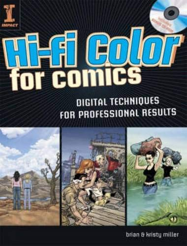 9781581809923: Hi-Fi Color for Comics: Digital Techniques for Professional Results (Book & CD Rom)