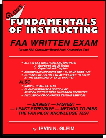 9781581941296: Fundamentals of Instructing FAA Written Exam