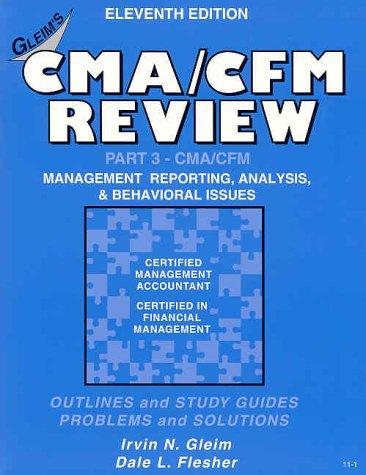 9781581942064: CMA/CFM Review Part 3