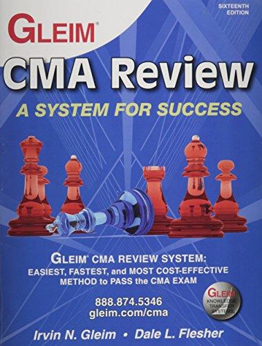 Gleim Cma Part 1 Book