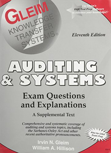 9781581942811: Auditing and Systems: Exam Questions and Explanations