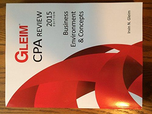 Gleim CPA Review - BEC - Business: Gleim