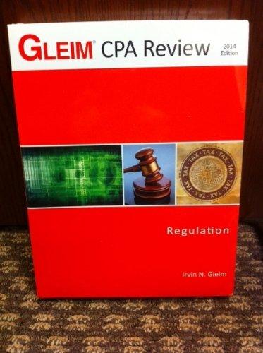 Cpa Reg Acad 2014: Gleim, Irvin N.