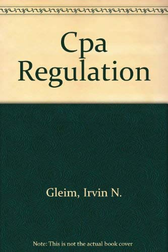 9781581944525: Gleim's CPA Review - Regulation- 2006