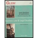 9781581944792: Business Law & Legal Studies: Exam Questions & Explanations