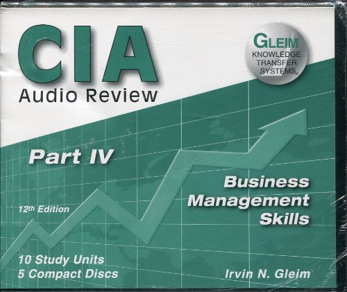 Business Management Skills Part 4; 12th Edition